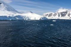 Антарктика - ландшафт Стоковые Фото