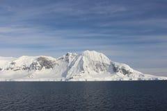 Антарктика - ландшафт Стоковое Изображение