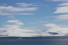 Антарктика - ландшафт Стоковое фото RF