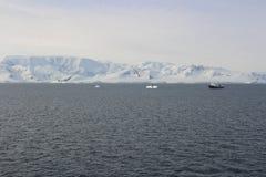 Антарктика - ландшафт Стоковые Изображения