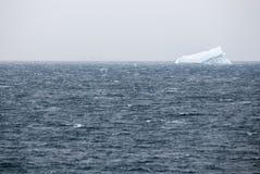 Антарктика в пасмурном дне Стоковое Изображение