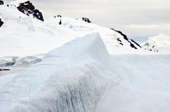 Антарктика - приполюсный ландшафт Стоковые Изображения