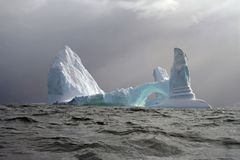 Антартический айсберг Стоковое фото RF