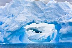 Антартический айсберг Стоковое Изображение
