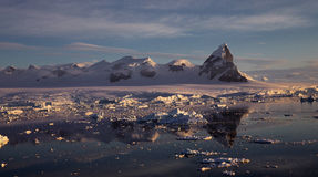 Антартический ландшафт Стоковое Фото