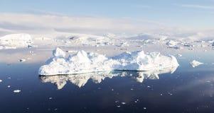 Антартический ландшафт Стоковые Изображения