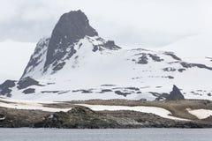 Антартическое побережье стоковые изображения rf
