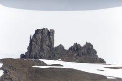 Антартическое побережье стоковое фото rf