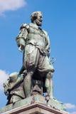Антверпен - статуя художника P.P. Rubens Стоковое Изображение RF
