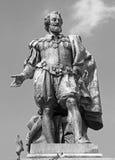 Антверпен - статуя художника P.P. Rubens Стоковая Фотография