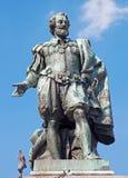 Антверпен - статуя художника P.P. Rubens Willem Geefs стоковое изображение