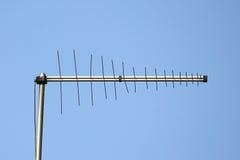 Антенна антенны ТВ Стоковое Изображение