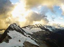 Антенна горы стоковые фото