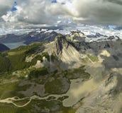 Антенна горы стоковая фотография