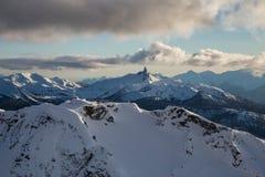 Антенна горы Whistler стоковое фото rf