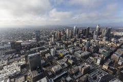 Антенна Лос-Анджелеса городская Стоковое фото RF