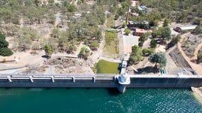 Антенна плотины Mundaring Стоковое Фото