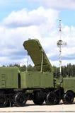 Антенна радара комплекса противовоздушной обороны Стоковое Изображение RF