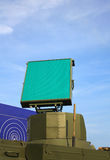 Антенна радара системы воздушной обороны Стоковые Фото
