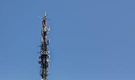 Антенна радиосвязей Стоковое Изображение RF