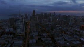 Антенна Сан-Франциско сток-видео