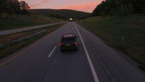 Антенна сельской местности США сток-видео