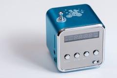 Антенна сини коробки игрока радио Mp3 Стоковая Фотография