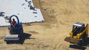 Антенна строительной площадки сток-видео