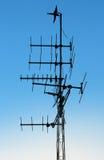 Антенна телевидения Стоковое Изображение RF