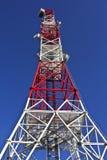 Антенна телекоммуникаций Стоковое Изображение RF
