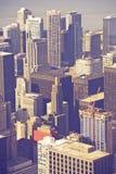 Антенна Чикаго Иллинойса Стоковое Изображение RF