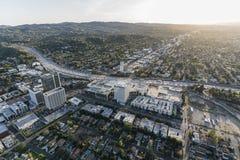 Антенна San Fernando Valley дубов Лос-Анджелеса Шермана Стоковое Изображение RF