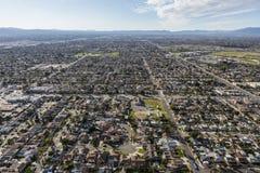Антенна Sun Valley Калифорнии Стоковое Изображение RF