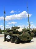 Антенны военного транспортного средства Стоковое Фото