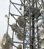 Антенны и репитеры радиосвязей Стоковые Фотографии RF