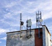 Антенны мобильной телефонной связи Стоковое Изображение