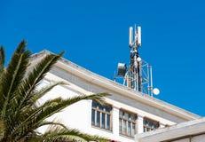 Антенны радиосвязей сотового телефона Стоковые Фотографии RF