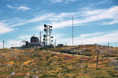 Антенны радиосвязей Стоковое Изображение RF