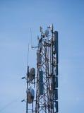 Антенны радиотелеграфа радио Стоковые Изображения RF