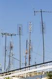 Антенны ТВ Стоковые Изображения RF