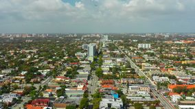 Антенны трутня Miami Beach FL видеоматериал