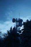 Антенны для радиосвязей Стоковое Фото