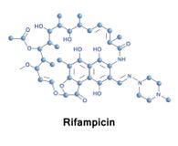 Антибиотик Rifampicin для бактериальных инфекций бесплатная иллюстрация
