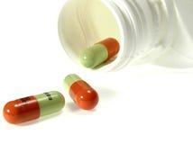 антибиотическая бутылка Стоковые Фотографии RF