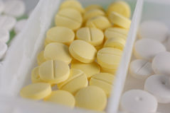 антибиотические пилюльки Стоковое Фото