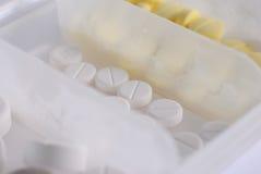 антибиотические пилюльки Стоковые Изображения RF