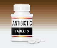 антибиотические таблетки Стоковые Фотографии RF