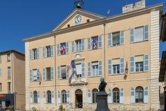 Антиб, Франция - 14-ое июня 2018: Здание муниципалитет стоковое фото