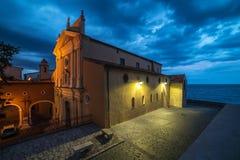 Антиб, французская ривьера, Франция: Церковь непорочного зачатия Стоковая Фотография RF