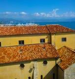 Антиб, d'Azur CÃ'te, Провансаль, Франция стоковые изображения rf